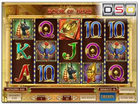 Book of Dead im SunnyPlayer Casino