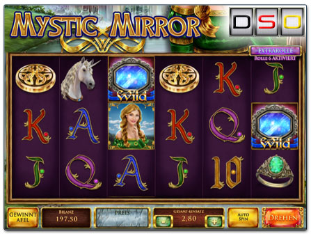 Red Rake Gaming Mystic Mirror Spielautomat