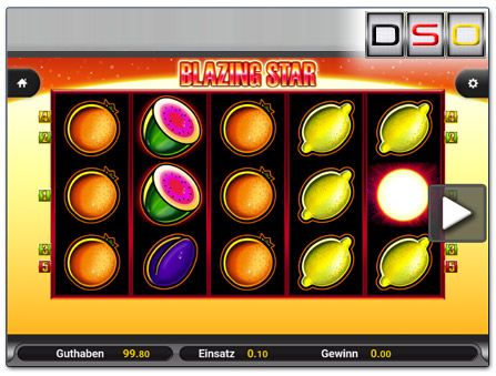 Blazing Star im SlotsMillion Mobil-Casino