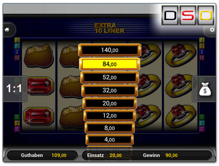 Extra 10 Liner im SunnyPlayer Handy Casino