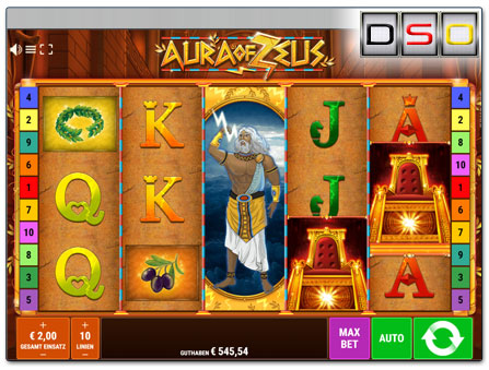 Bally Wulff Aura of Zeus
