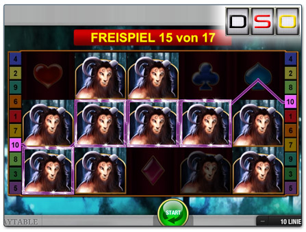 Bally Wulff Mystic Force Freispielrunde
