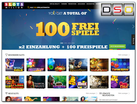 SlotsMillion Merkur Casino