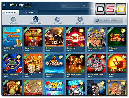 sunmaker casino merkur